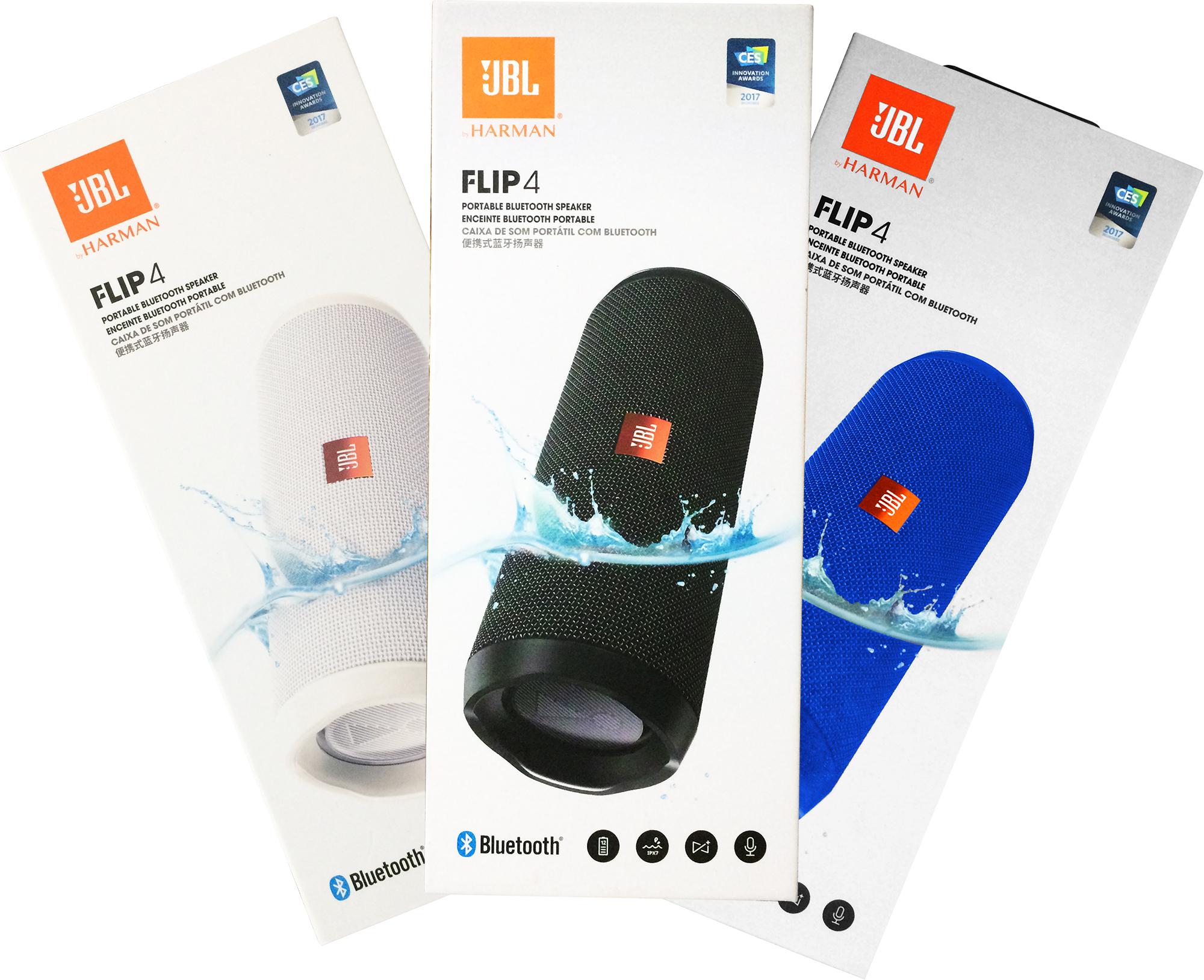 JBL Flip 4 Original Caixa de Som Portátil Bluetooth